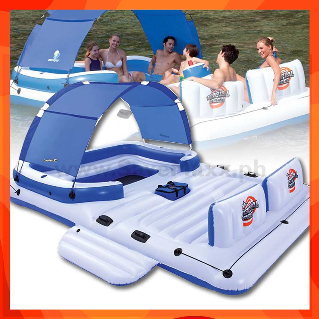 Cooler Z Inflatable Water Floating Island (3.89m x 2.74m / 12'9