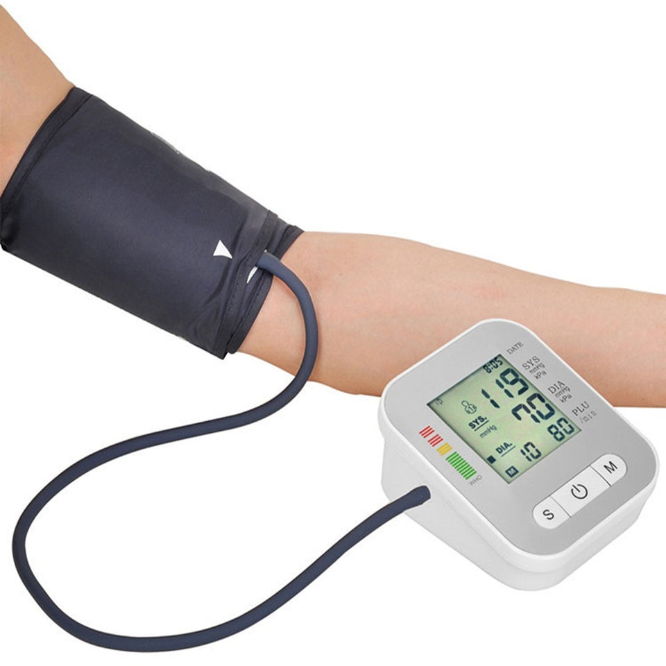 Portable Electric Blood Pressure Monitor