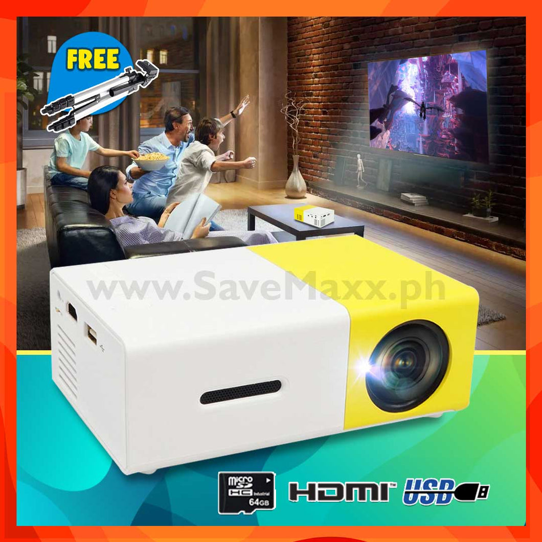 Portable Pocket Projector (with Free Tripod) - R00171