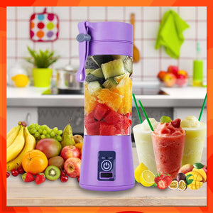 Portable & Rechargeable Mini Juice Blender