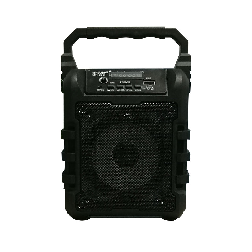 Portable Mini Bluetooth Karaoke Speaker with Mic