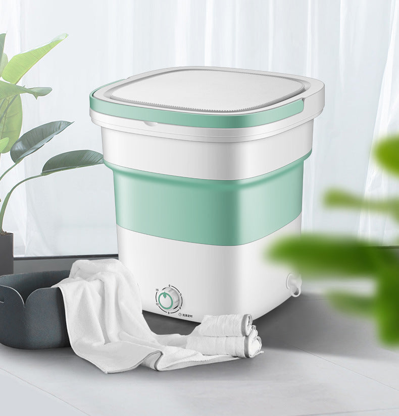 Heavy Duty Portable Folding Washing Machine