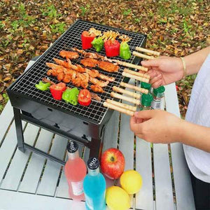 Small Portable Steel BBQ (Heavy Duty) - R00132