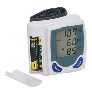New Automatic Wrist Watch BP Monitor - R00098