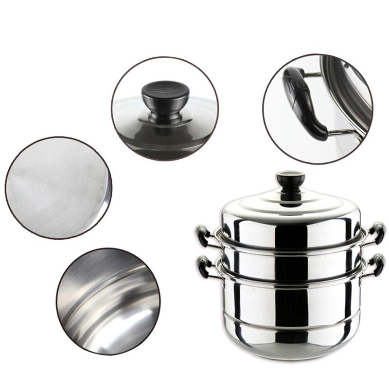 Multi-functional Stainless Hot Pot Steamer