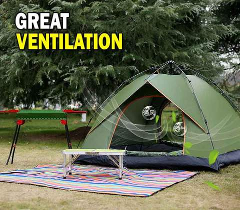 Heavy Duty Automatic Camping Tent - R00119