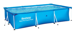"Rectangular Folding Pool (3m x 2.01m 66cm / 9'10"" x 6'7"" x 26"") - 56404"