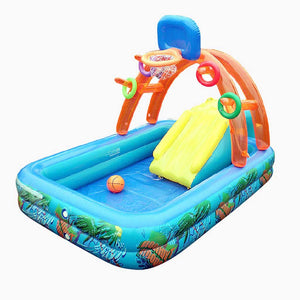 Inflatable Splash Pool (188cm x 137cm x 34cm) - 77301