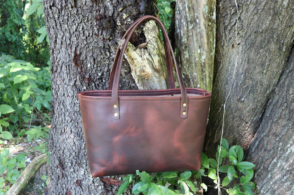 Medium Leather Tote