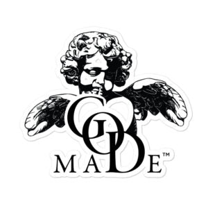 GOD MADE Logo Stickers