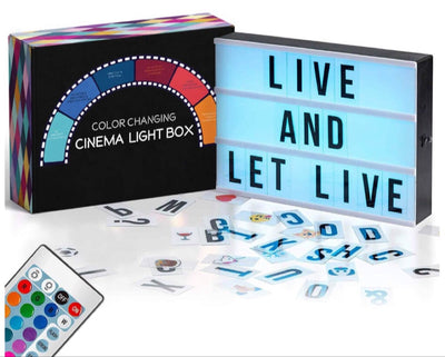 LED Cinema Light Box Lamp
