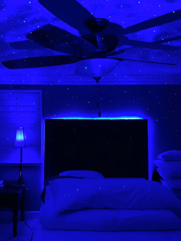 LED Bluetooth Nebula Cloud Galaxy Projector 2.0