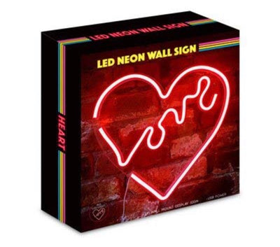 "LED ""Love"" Heart Sign"