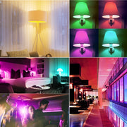 (2 PACK) LED Color Changing Lightbulbs