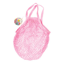 Load image into Gallery viewer, Rex London Baby Pink Organic Cotton Net Bag