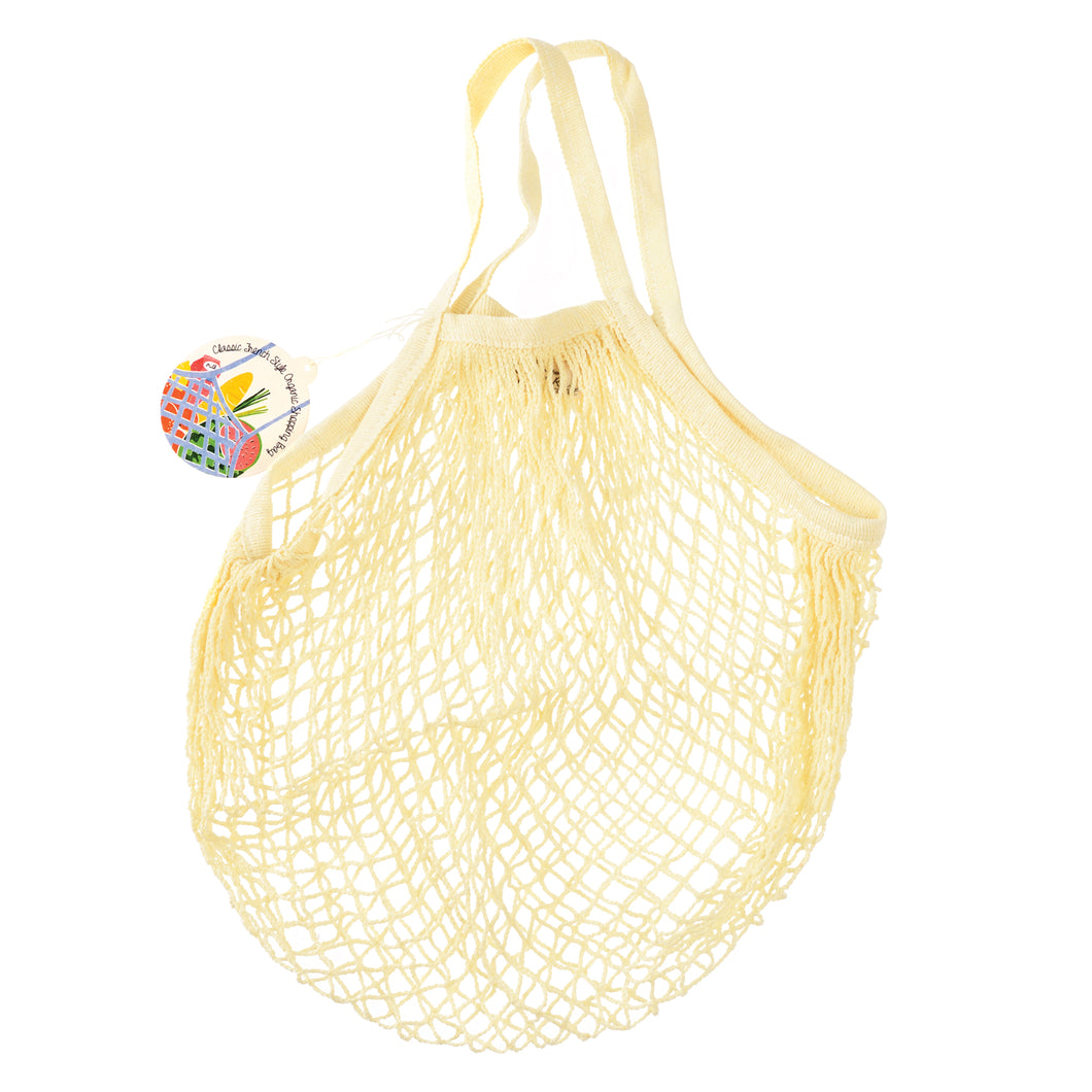 Rex London Cream Organic Cotton Net Bag