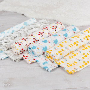 Rex London Little Ducks Swaddling Blanket
