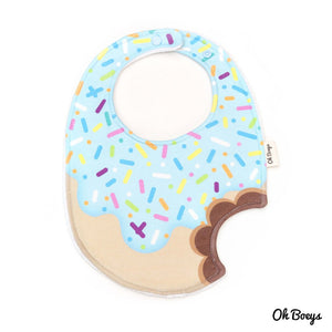 Oh Boeys Blueberry Icing Donut Bib