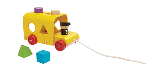 PlanToys Sorting Bus