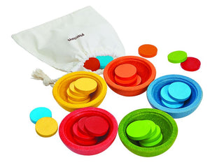 PlanToys Sort and Count Cups