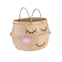 Load image into Gallery viewer, Sass and Belle Seagrass Sweet Dreams Storage Basket