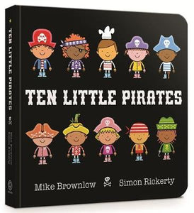 Ten Little Pirates Board Book - Ten Little (Board book)