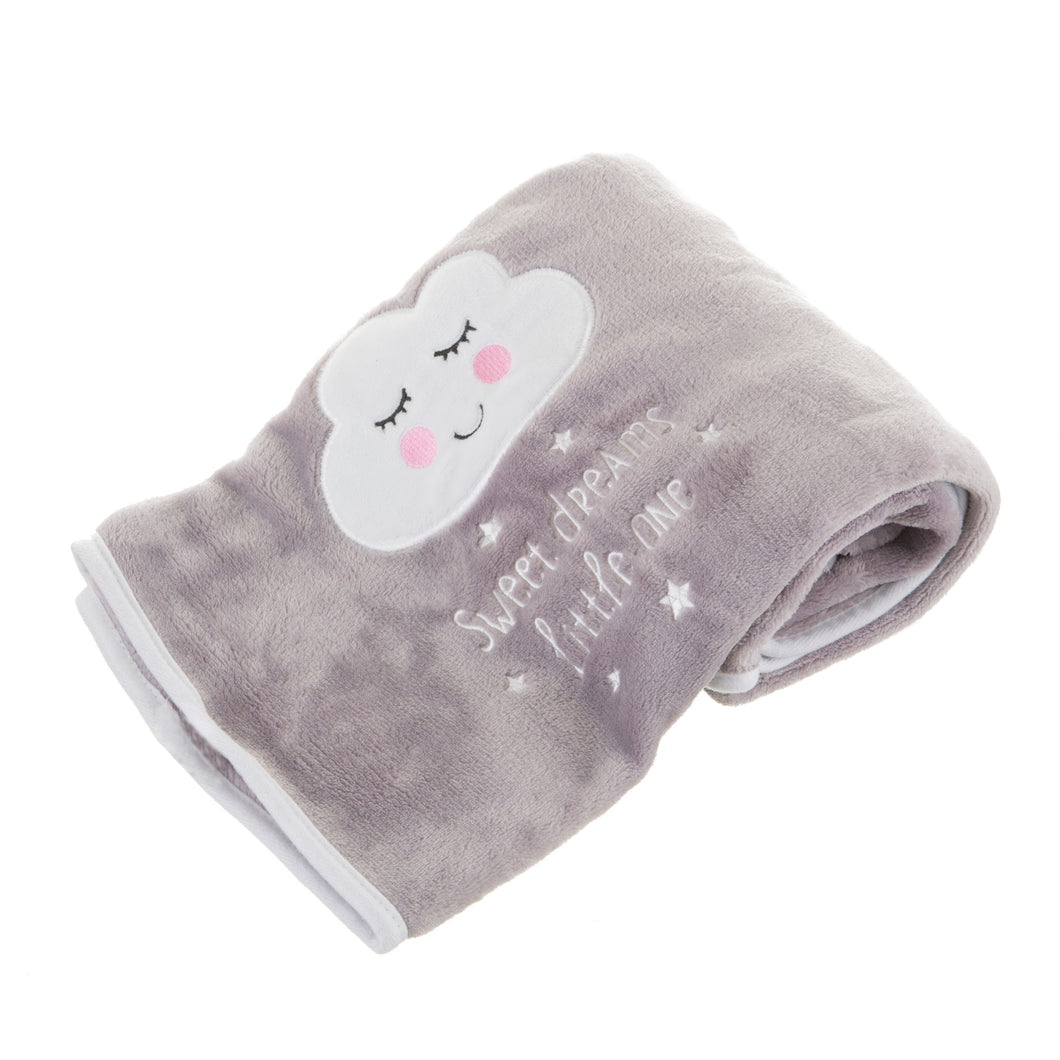 Sass and Belle Sweet Dreams Cloud Soft Fleece Baby Blanket