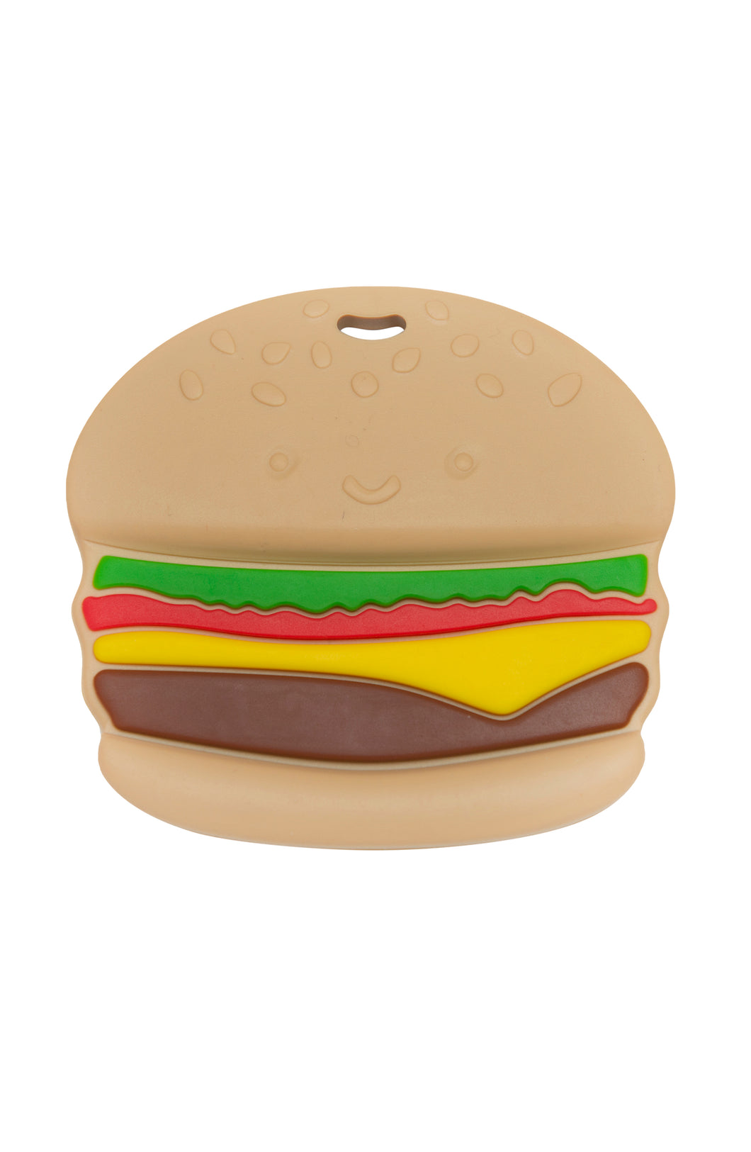 Loulou Lollipop - Silicone Teether Single - Burger