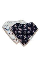Load image into Gallery viewer, Loulou Lollipop Bandana Bib Set - Fair Isle