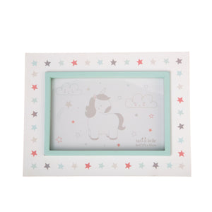 Sass and Belle Evie Unicorn Single Photo Frame