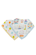 Load image into Gallery viewer, Loulou Lollipop Bandana Bib Set - Carnival Fun