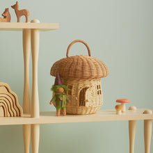 Load image into Gallery viewer, Olli Ella - Rattan Mushroom Basket