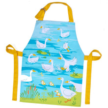 Load image into Gallery viewer, Threadbear Design Gaggle of Geese Apron