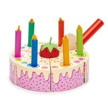 Load image into Gallery viewer, Tender Leaf Toys Rainbow Birthday Cake