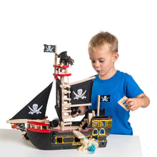 Load image into Gallery viewer, Le Toy Van Barbarossa Pirate Ship