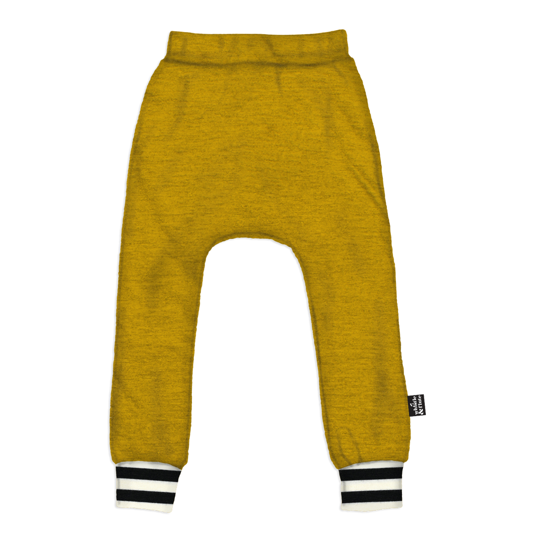 Whistle & Flute Joggers - Mustard
