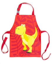 Load image into Gallery viewer, Threadbear Design Dinosaur Apron
