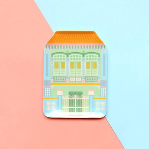 SHOPHOUSE PLATE - BLUE