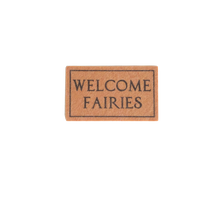Load image into Gallery viewer, My Wee Fairy Door Welcome Mat (Natural)