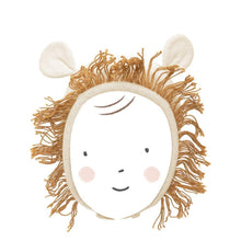 Load image into Gallery viewer, Meri Meri Lion Baby Bonnet