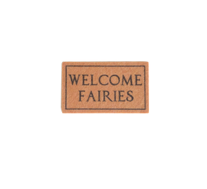 My Wee Fairy Door Welcome Mat (Natural)