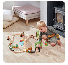 Load image into Gallery viewer, Tender Leaf Toys Wild Pines Train Set