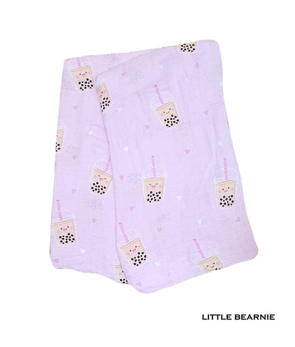 Little Bearnie Swaddle - Boba (Pink)