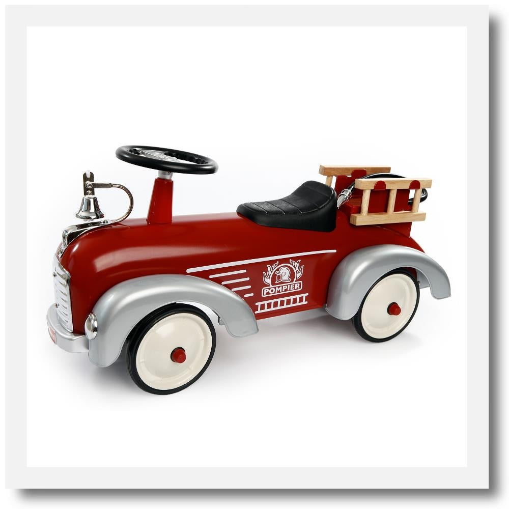 Baghera Speedster Fireman - Ride-on from 1 year-old