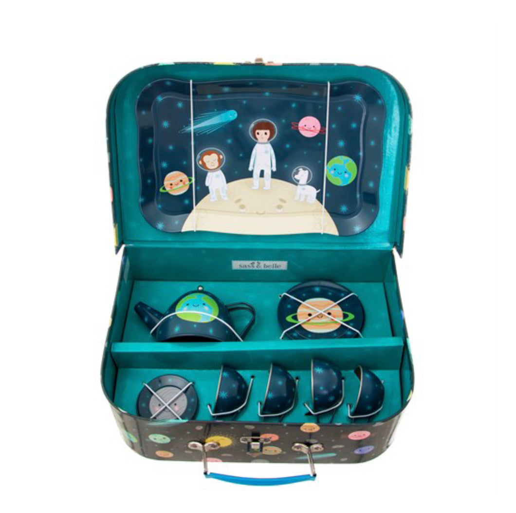 Sass & Belle Space Explorer Kid's Tea Set