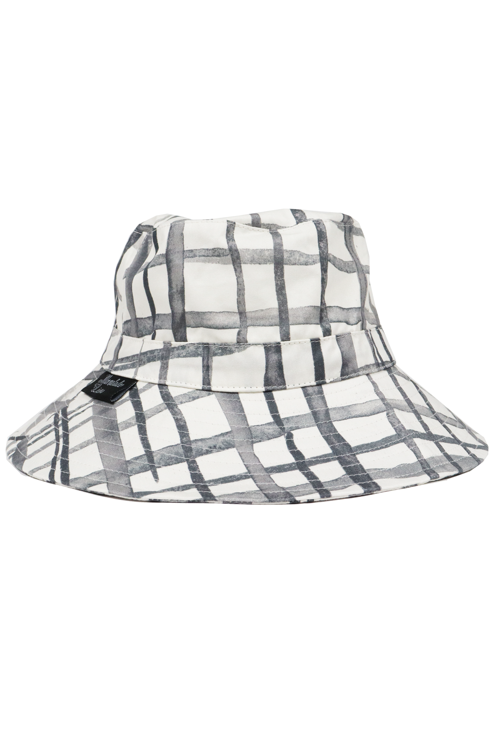 Marmalade Lion Sun Hat - Swedish Check