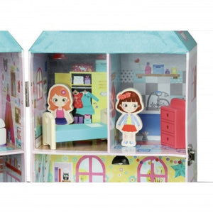 Vilac Doll house in a suitcase
