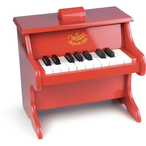 Vilac Red Piano with scores