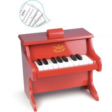 Load image into Gallery viewer, Vilac Red Piano with scores