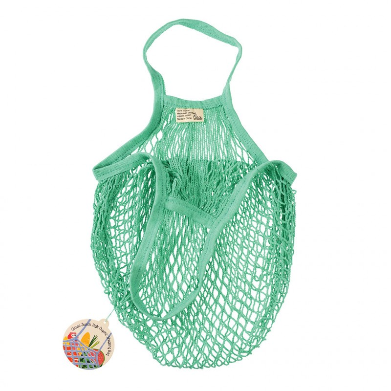 Rex London Mint Green Organic Cotton Net Bag